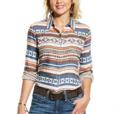 Ariat REAL Tribal Snap Front Ladies Western Shirt - TB