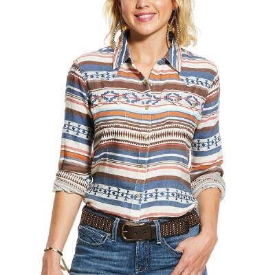 Ariat REAL Tribal Snap Front Ladies Western Shirt