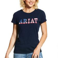 Ariat REAL Stars and Stripes Ladies Short Sleeve Tee - TB