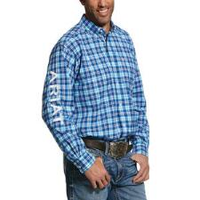 Ariat Pro Bennet Team Mens Western Shirt - TB
