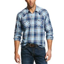 Ariat Jupiter Retro Fit Snap Front Mens Western Shirt - TB