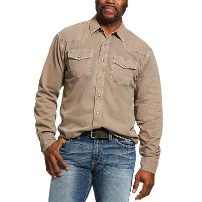Ariat Jurlington Retro Fit Snap Front Mens Western Shirt