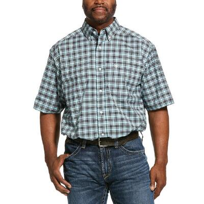 Ariat Pro Klamath Short Sleeve Mens Western Shirt