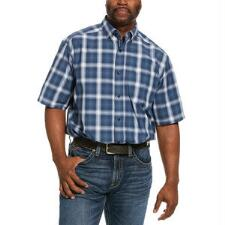 Ariat Pro Lakewood Short Sleeve Mens Western Shirt - TB