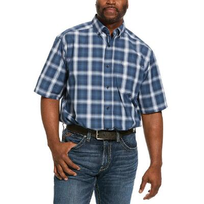 Ariat Pro Lakewood Short Sleeve Mens Western Shirt