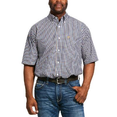 Ariat Prattville Classic Short Sleeve Mens Westen Shirt