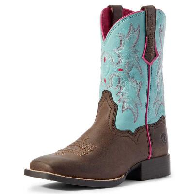 Ariat Tombstone Bay Brown Youth Western Boot
