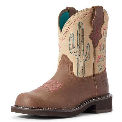 Ariat Fatbaby Heritage Desert Brown Ladies Western Boot
