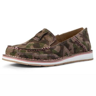 Ariat Camo Suede Ladies Cruiser