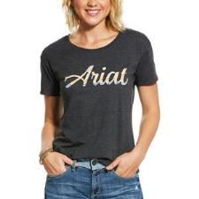 Ariat Navajo Fill Short Sleeve Ladies Tee - TB