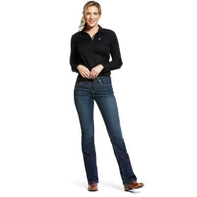 Ariat REAL High Rise Stretch Marne Boot Cut Womens Jean