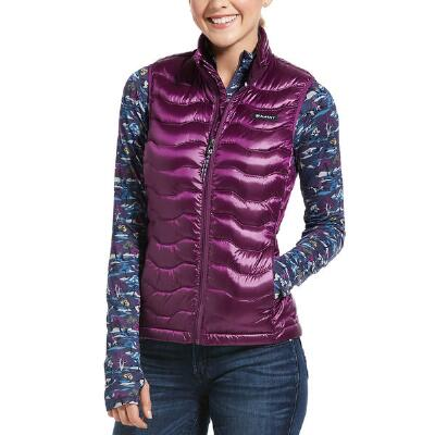 Ariat Imperial Violet Ideal Down 3.0 Ladies Vest