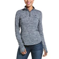 Ariat Gridwork Quarter Zip Ladies Pull Over - TB