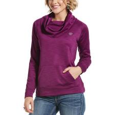 Ariat Conquest Cowlneck Ladies Sweatshirt - TB