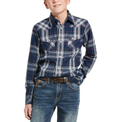 Ariat Hermosa Retro Snap Boys Western Shirt