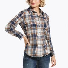 Ariat REAL Billie Jean Cedar Blossom Ladies Western Shirt - TB