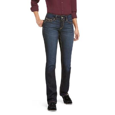 Ariat REAL Perfect Rise Margaret Straight Leg Womens Jean