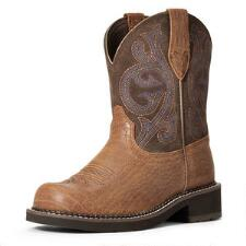 Ariat Fatbaby Heritage Brown Croc Ladies Western Boots - TB