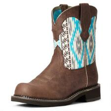 Ariat Fatbaby Heritage Twill Ladies Western Boots - TB