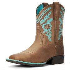 Ariat Cattle Cate Youth Western Boot - TB