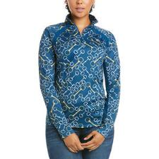 Ariat Sunstopper 2.0 Ladies Blue Opal Bits Quarter Zip - TB