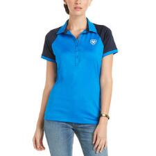 Ariat Team 3.0 Ladies Imperial Blue Polo - TB