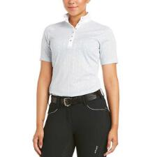 Ariat Showstopper 3.0 Short Sleeve Ladies Show Shirt - TB