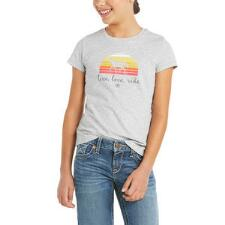 Ariat Live Love Ride Short Sleeve Girls Tee - TB