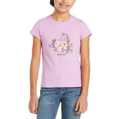 Ariat Rosy Unicorn Short Sleeve Girls Tee