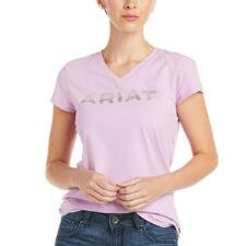 Ariat Bling Logo Short Sleeve Ladies Tee - TB