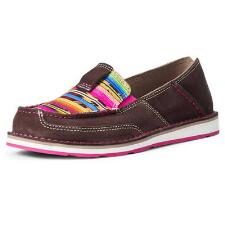 Ariat Coffee Bean Serape Ladies Cruiser - TB