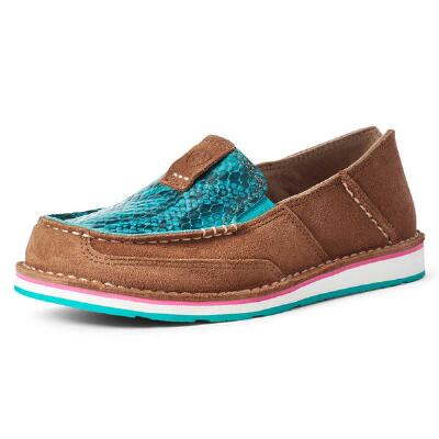 Ariat New Earth Turquoise Snake Ladies Cruiser