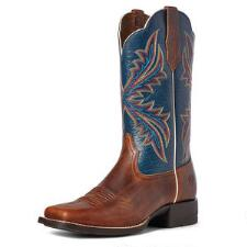 Ariat West Bound Russet Rebel Ladies Western Boot - TB
