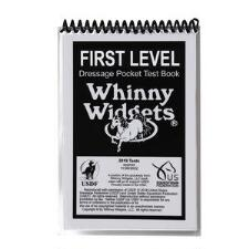Whinny Widget 2019 Dressage First Level Test Book - TB