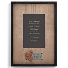 Love and Be Loved 4 x 6 Picture Frame - TB