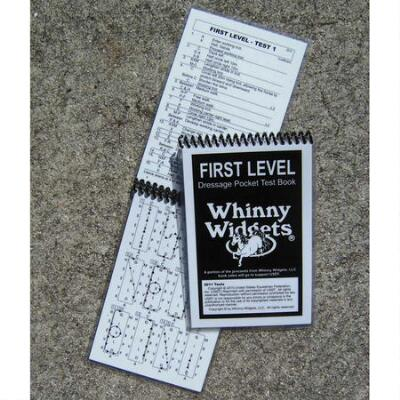 Whinny Widgets Dressage Test Book 1st Level 2015