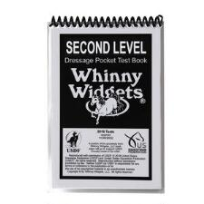 Whinny Widget 2019 Dressage Second Level Test Book - TB