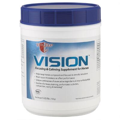 Vita Flex Vision Focusing & Calming Pellets 1.625 lb