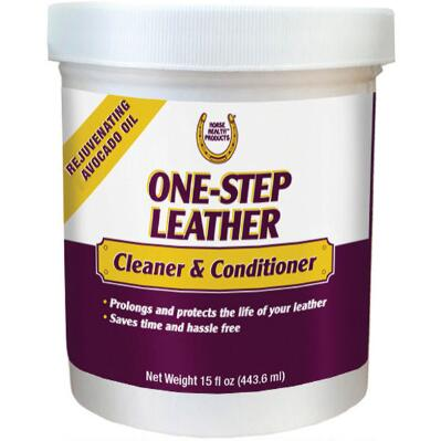 One Step Leather Clearner And Conditioner