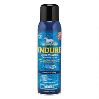 Farnam Endure Sweat-Resistant Fly Repellent 15 oz Continuous Spray