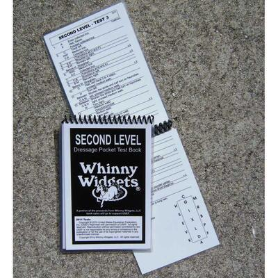 Whinny Widgets Dressage Test Book 2nd Level 2015