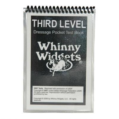 Whinny Widgets Dressage Test Book 3rd Level 2015