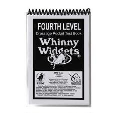 Whinny Widget 2019 Dressage Fourth Level Test Book - TB