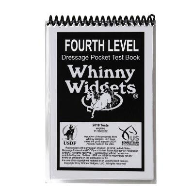 Whinny Widget 2019 Dressage Fourth Level Test Book