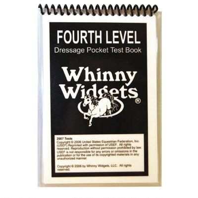 Whinny Widgets Dressage Test Book 4th Level 2015