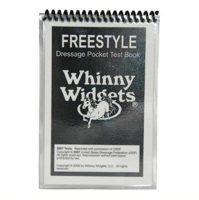 Whinny Widgets Dressage Test Book Freestyle 2015