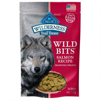 Blue Wilderness Salmon Wild Bits Training Treats 4 oz