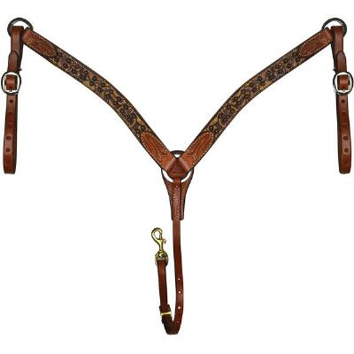 Rodeo Rose Breast Collar