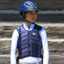 Tipperary Eventer Vest Laced Sides - TB