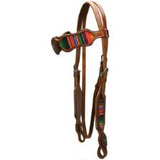 Big Country Tack Aurora Sunset Serape Browband Headstall - TB